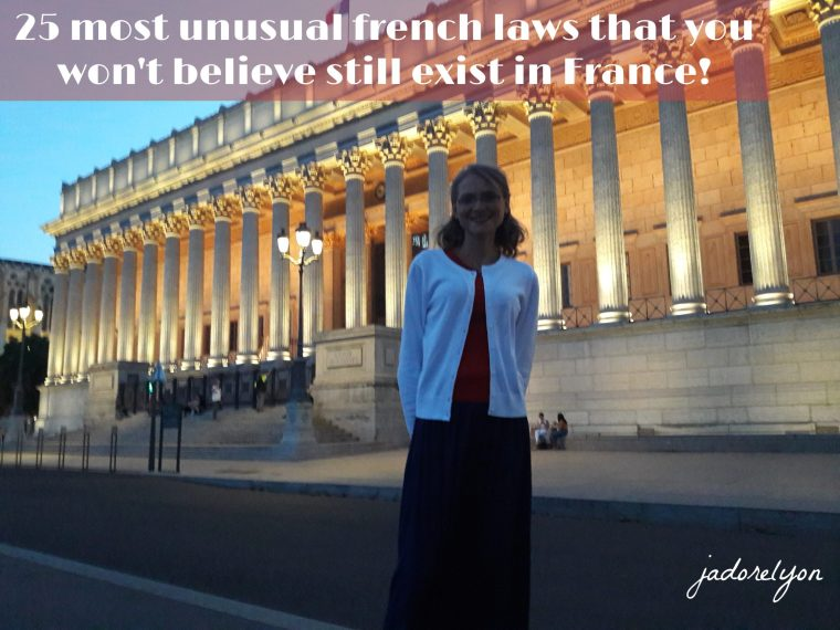 The most ridiculous french laws that you won't believe still exist in France!