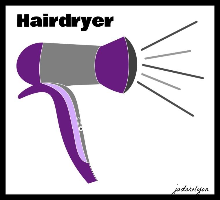 Hairdryer.