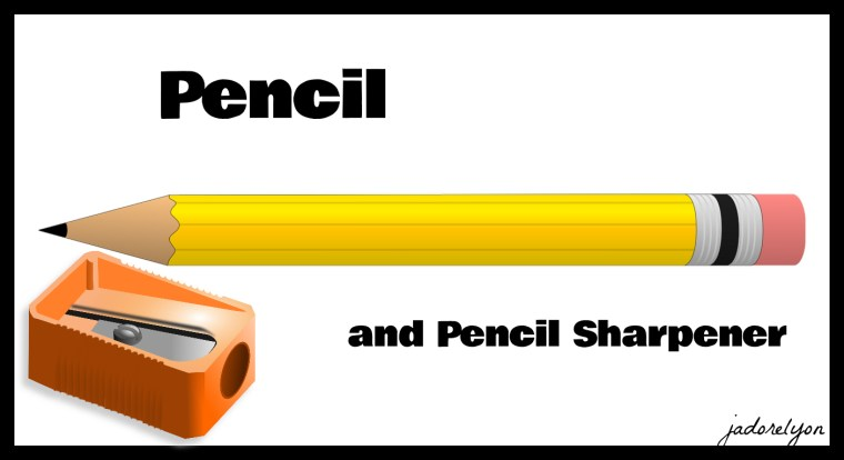 The Pencils and Pencil Sharpener(1)