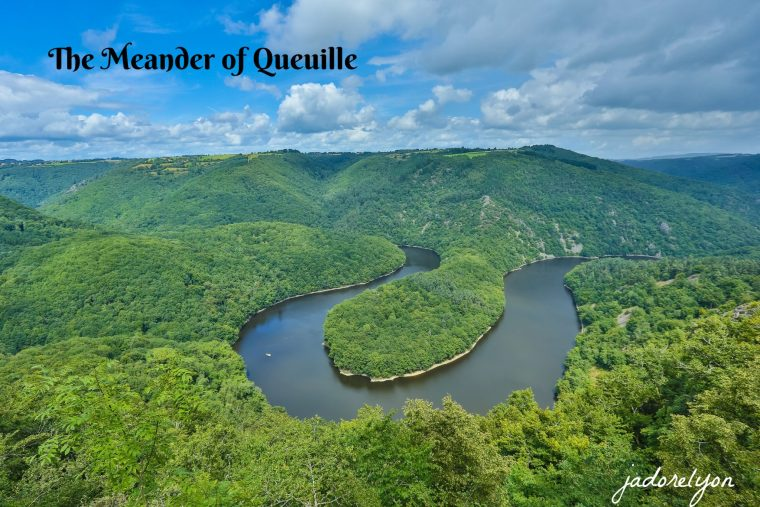 The Meander of Queuille