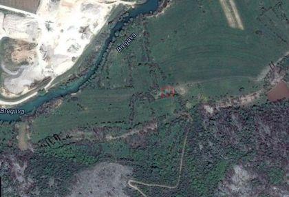 Бунар у Брегави (означен црвеним) на googlemaps.com