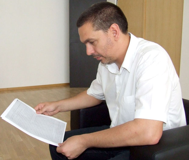 Директор Архива Новог Сада Петар Ђурђев