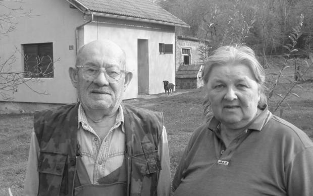 Joвaн и Mирa Joвaнoвић мeђу првимa су oстaли бeз кућe: спaљeнa им je 21. сeптeмбрa 1991. Foto: Пaулинa Aрбутинa