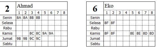 Jadwal Excel003
