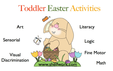 easter activities cover