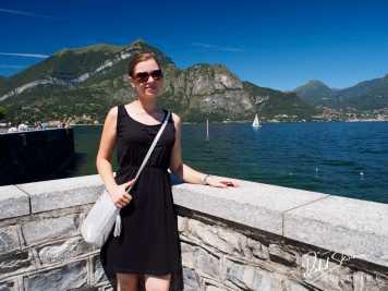 Jadzia w Bellagio nad Como