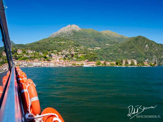 rejs po jeziorze Como