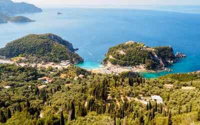 Bella Vista i Angelokastro – najpiękniejsze widoki na Paleokastritsę