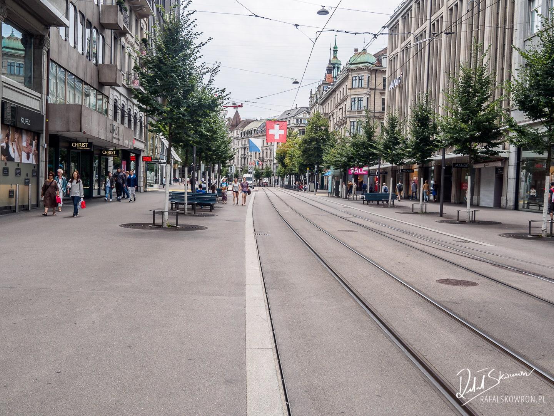 Bahnhofstrasse Zurych