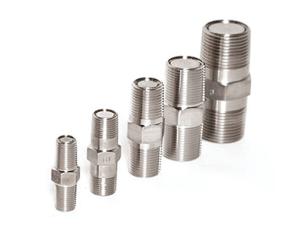 Spring loaded poppet check valve