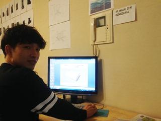 [깊은풍경]박용범학생인턴근무마감