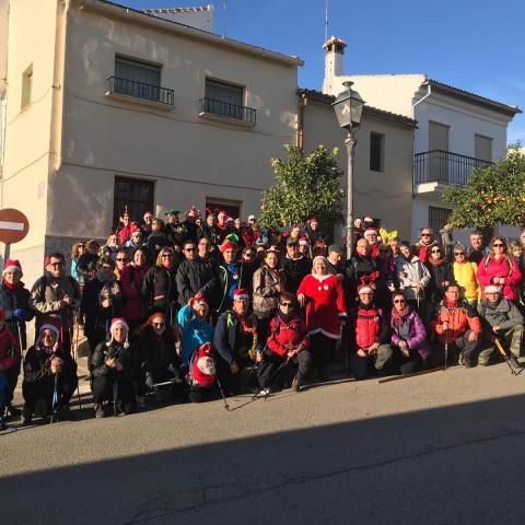 La Asociación Jacobea de Jaén despide el año de rutas en Antequera