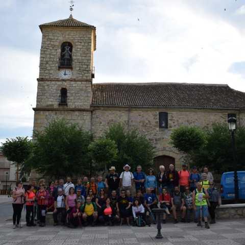 La Asociación Jacobea de Jaén pone fin en Carchelejo las rutas de la temporada