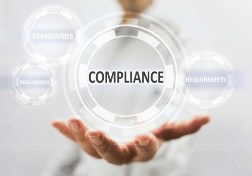 Compliance Concept On Virtual Screen