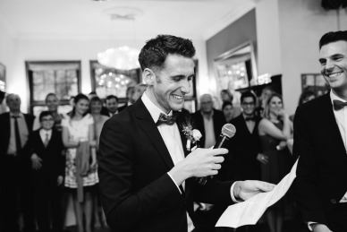 Wir haben unsere eigenen Eheversprechen geschrieben und vorgelesen - ein emotionaler Moment