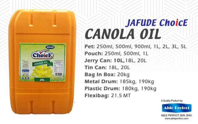 Filipino Canola Oil Suppliers, Manufacturers, Wholesalers