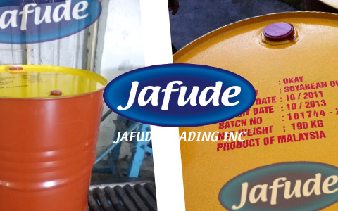 Jafude Soybean Cooking Oil Supplier in the Philippines Metal Drum package