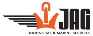 JAG Industrial and Marine Services Logo: Marine Pipe Welders