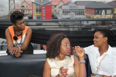 Chatting away with Ufuoma