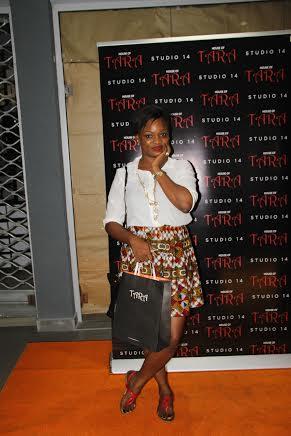 Ms Jaga herself- Ngozy Atta