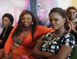 on the right, Ngozy Atta, Jagabeauty Studio