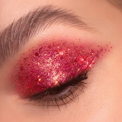 ruby lights glitter