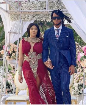 Actress, Angela Okorie Marries Her Fiance Desmond In A Romantic Beach  Wedding