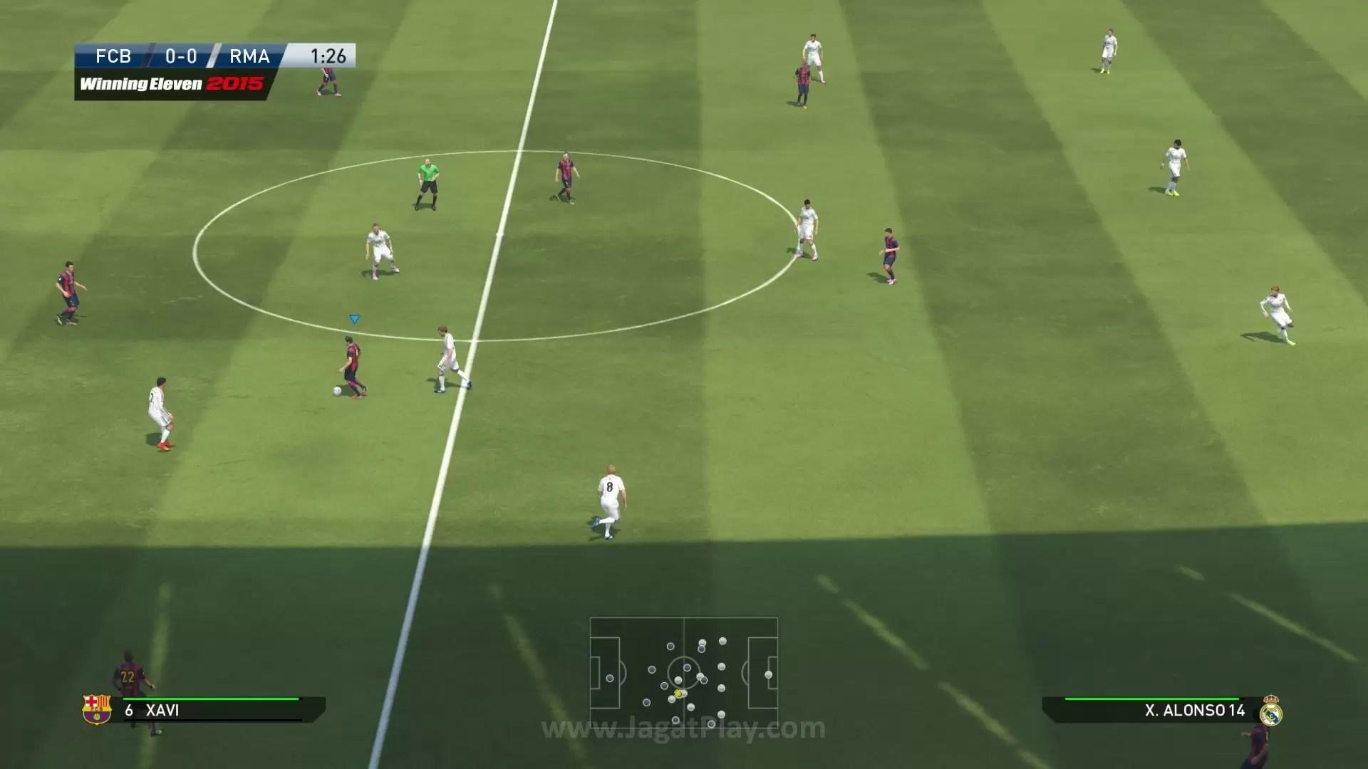 Preview Pro Evolution Soccer 2015 Lompatan Ke Generasi