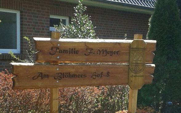 Holzbank - Eiche auf Jagdeinrichtung24.de