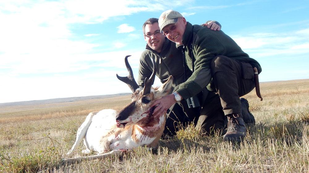 Jagen in Wyoming