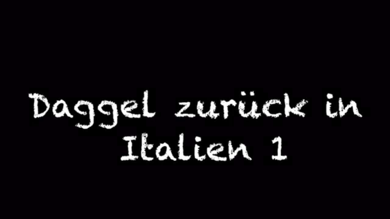 Dackel zurück in Italien 1