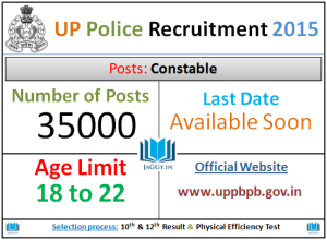 UP Police 35000 Constable Recruitment 2016
