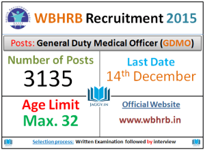 WBHRB Recruitment 2015