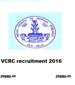 vcrc recruitment 2016