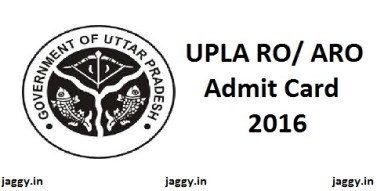 UPLA Review Officer Admit Card 2016