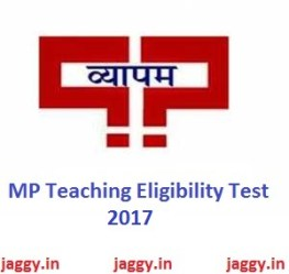 MP TET 2017 Exam
