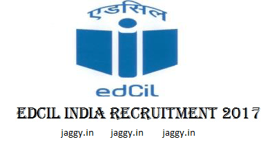 EDCIL Recruitment 2017