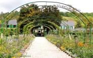 Claude Monet - gång till huset