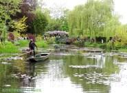 Monets trädgård
