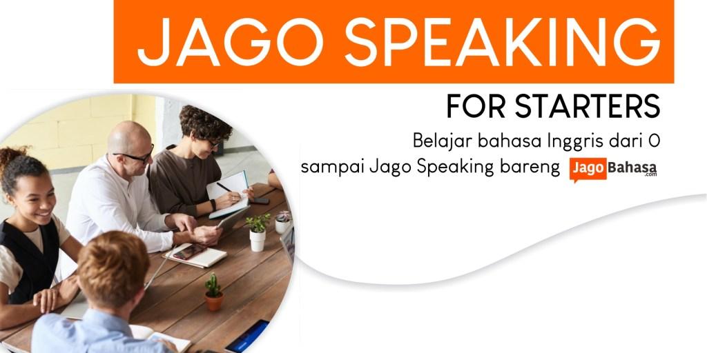 Jago Speaking 1; Bahasa Inggris dari Dasar