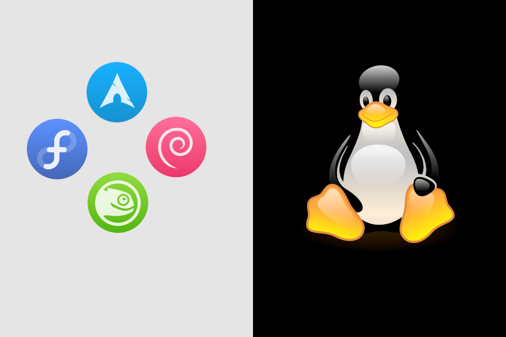 distro linux rolling release terbaik arch, fedora, debian sid, opensuse, void, solus