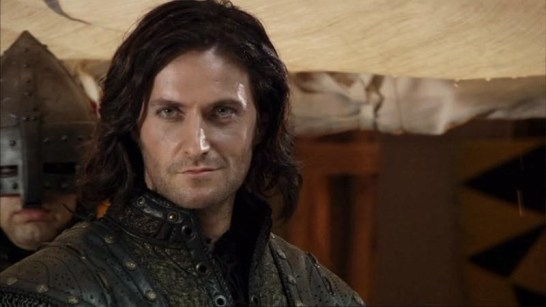 Richard Armitage being the best Guy he knows how. Courtesy richardarmitagenet.com