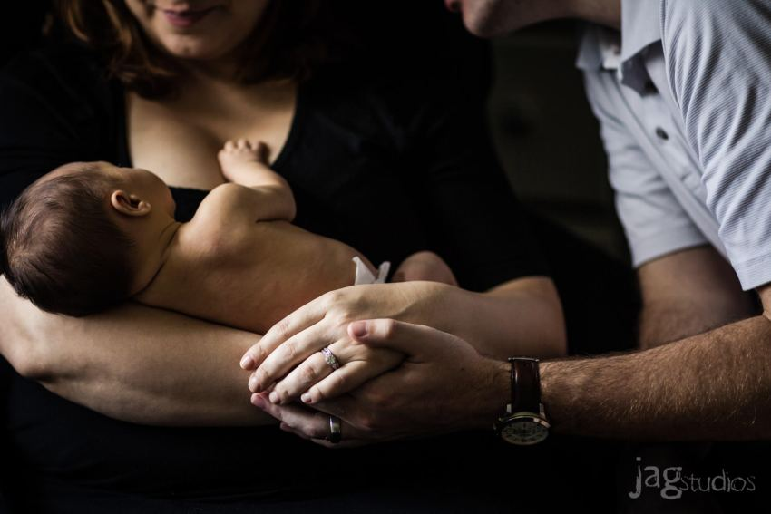 Newborn portrait photography Connecticut JAGstudios