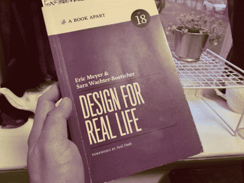 A picture of the book Design for Real Life