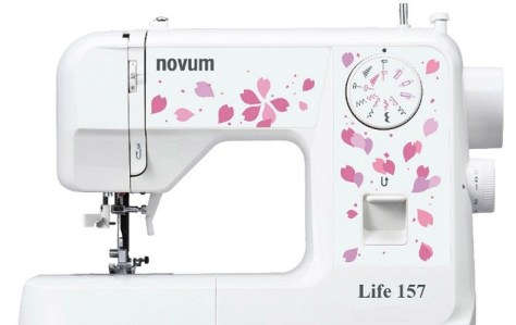 The Jaguar Novum Life 157 sewing machine is ideal for first timers