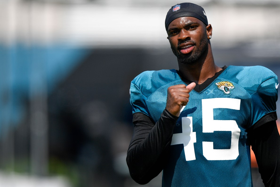 Chaisson discusses how battling Jags' starting OTs has helped him