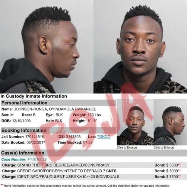 dammy krane arrested2 696x696 - Top 10 Most Controversial Moments In Nigerian Music 2017