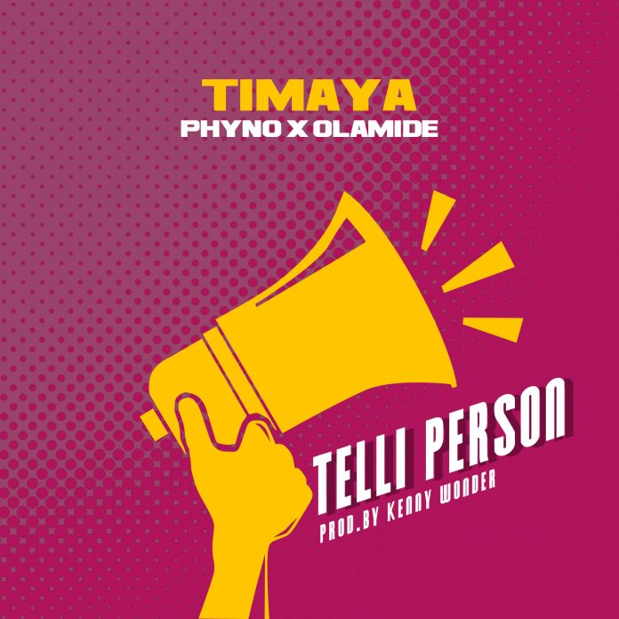 Timaya Telli Person feat. Phyno Olamide 696x696 - Top 25 Nigerian Songs For 2017