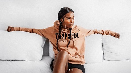 Tiwa Savage, asking her fans if they are ready for her new single (see Title)