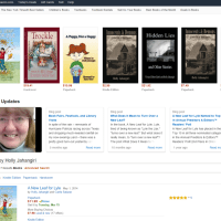 Amazon Author Page (Holly Jahangiri)